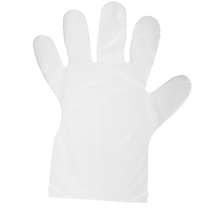Picture of EXAMINATION HDPE GLOVES RAYS