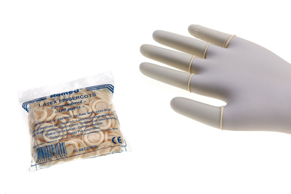 Picture of FINGER GLOVES SIZE SMALL (PER 100 PCS)