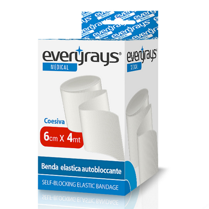 Picture of ELASTIC STRETCH BANDAGE 6CM X 4M EVERYRAYS