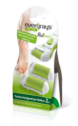 Picture of REPLACEMENT ROLLS ROLLOVE 2PCS FOR THE DEVICE FOOT CARE EVERYRAYS