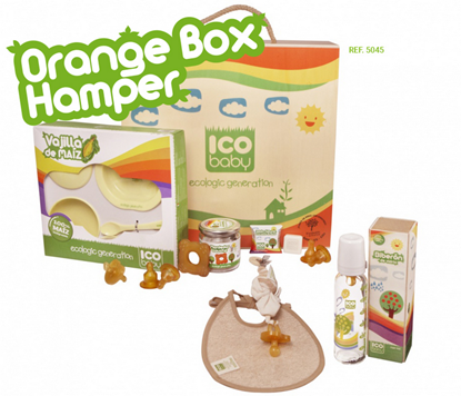 Picture of ΣΕΤ ΠΡΟΙΟΝΤΩΝ ICOBABY ORANGE BOX 7045