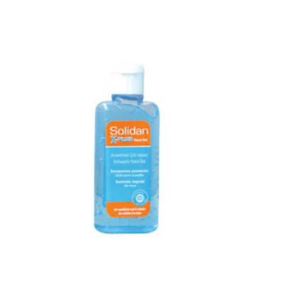 Picture of HAND ANTISEPTIC GEL SOLIDAN XPLUS 80ML