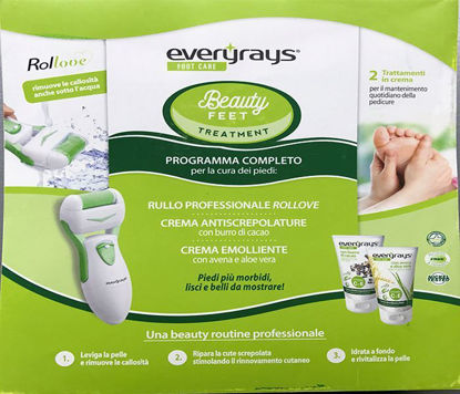 Picture of GIFT PACK KIT (1 ROLLOVE + 2 FOOTCREAMS) EVERYRAYS