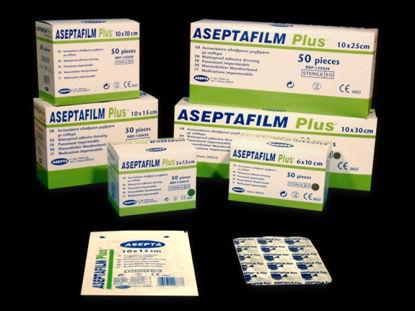 Picture of Αυτοκόλλητο Αποστειρωμένο Επίθεμα Aseptafilm Ρlus 10cm x 20cm