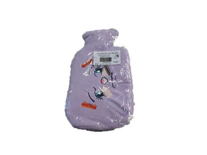 Picture of HOT WATER BOTTLE LΑΤΕΧ FRΕΕ, WITH COVER COLORED WITH BABY ART