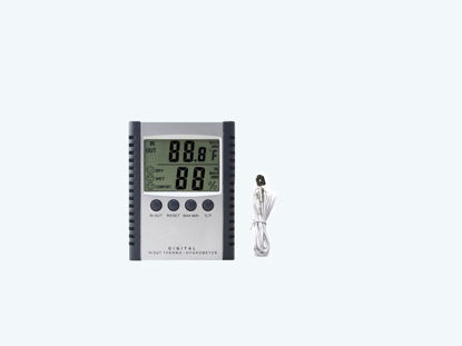 Picture of Θερμόμετρο Υγρόμετρο Ψηφιακό ΜΙΝ/ΜΑΧ 306126