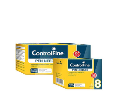 Picture of Control Fine Βελόνα για πένα Ινσουλίνης 8-31 100τεμ.