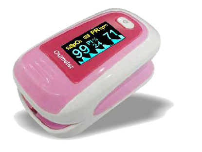 Picture of ΠΑΛΜΙΚΟ ΟΞΥΜΕΤΡΟ ΔΑΚΤΥΛΟΥ SAFEHEART 5002 PINK