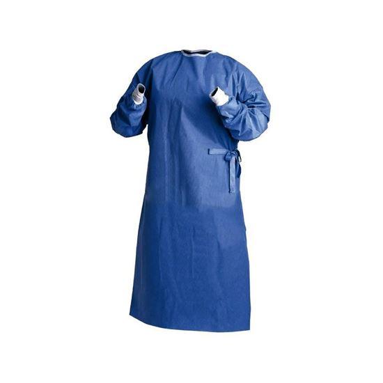Picture of Χειρουργική Στολή SAFETY Large Μπλε Αποστειρωμένη