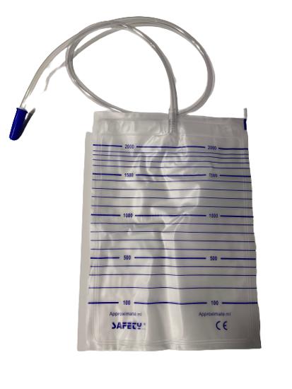 Σακούλα συλλογής ούρων για ασθενείς νοσοκομείου